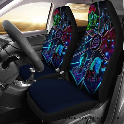 Avengers Car Seat Covers - Cute Design, Universal Fit