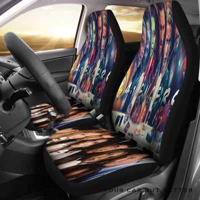 Avengers Mix Friends Car Seat Covers - Cute Design, Universal Fit