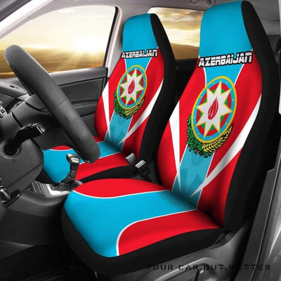 Azerbaijan Car Seat Active A11 - Cute Design, Universal Fit
