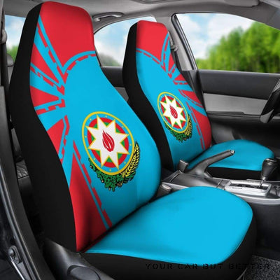 Azerbaijan Car Seat Covers Premium Style Th5 - Cute Design, Universal Fit