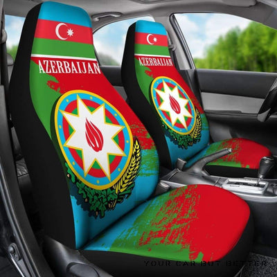 Azerbaijan Special Car Seat Covers A7 - Cute Design, Universal Fit