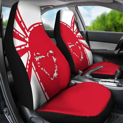 Bahrain Car Seat Covers Premium Style Th5 - Cute Design, Universal Fit