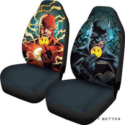 Batman Car Seat Covers Style 8 - Cute Design, Universal Fit