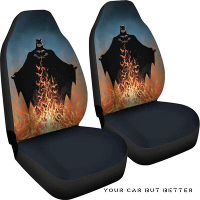 Batman Car Seat Covers Style 4 - Cute Design, Universal Fit
