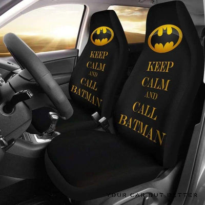 Batman Car Seat Covers Style 9 - Cute Design, Universal Fit