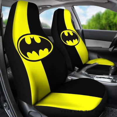 Batman Car Seat Covers Style 5 - Cute Design, Universal Fit