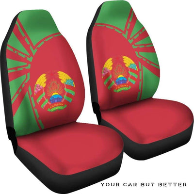 Belarus Car Seat Covers Premium Style Th5 - Cute Design, Universal Fit