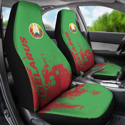 Belarus Car Seat Covers Smudge Style Bn1510 - Cute Design, Universal Fit