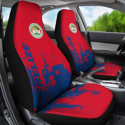 Belize Car Seat Covers Smudge Style Bn1510 - Cute Design, Universal Fit