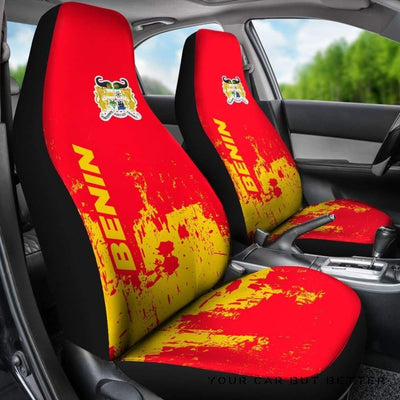 Benin Car Seat Covers Smudge Style Bn1510 - Cute Design, Universal Fit