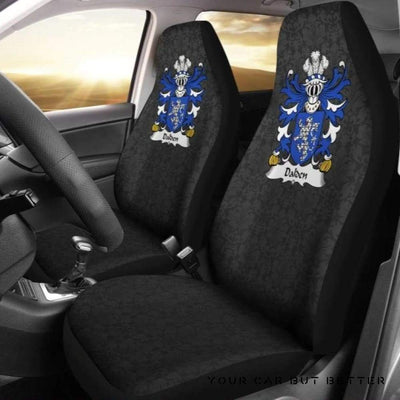 Dalden (Of Penarth, Glamorgan) Wales Car Seat Cover A0 - Cute Design, Universal Fit