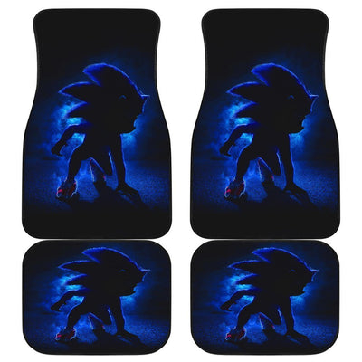 Sonic The Hedgehog 2020 Movie 191031 Personalized Custom Rubber Weather Auto Car Fit Floor Mats, Liners
