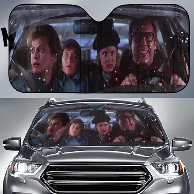 National Lampoons Christmas Vacation Auto Sun Shade - Custom Funny  Auto Window Shades, Windshield Cover, Sun Protector, retractable sunshades, Sun shade for Car