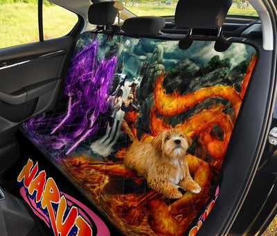 Naruto Vs Sasuke Dog Seat Covers For Car