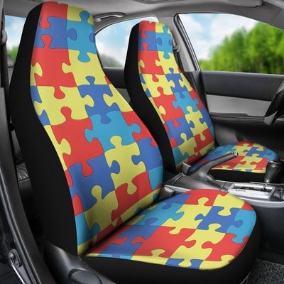 Autism Car Seat Covers - Cute Design, Universal Fit