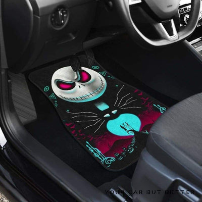 Cute Custom Nightmare Before Christmas Car Floor Mats 1106191 Design