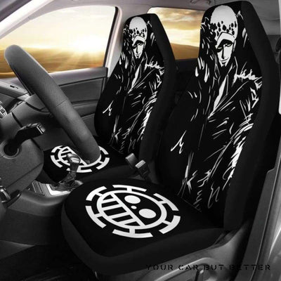 Water Law One Piece Car Seat Covers Style 4 - Cute Design, Universal Fit