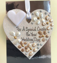 Load image into Gallery viewer, Wedding Day Keepsake Heart