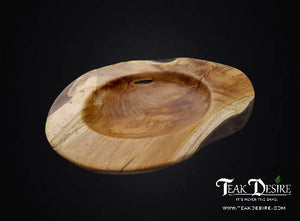 Epoxy Resin Filled Teak Root Bowl - 30cm , 40cm