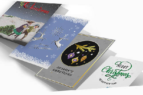 Christmas Cards with your artwork - Double Sided