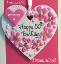Load image into Gallery viewer, Birthday Keepsake Heart