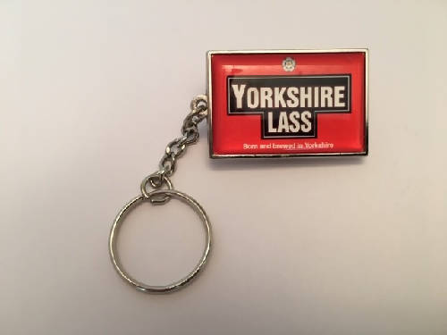 YORKSHIRE LASS KEY RING