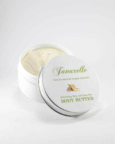Refreshing Mint and Chocolate Body Butter