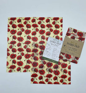 Bumble Wrap Beeswax wraps Midi (sandwich) pack