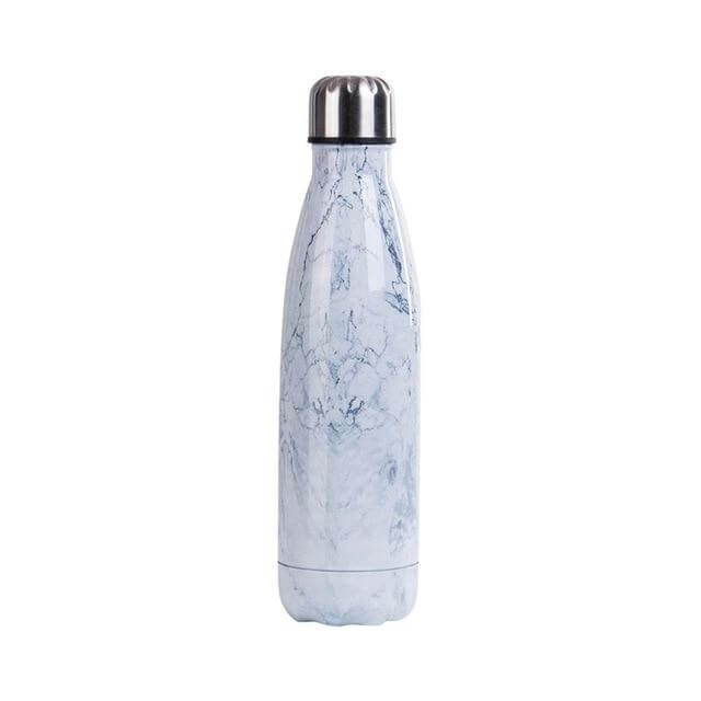 Botella Line Art 500ml - Think About It Store: productos reutilizables, que es el medio ambiente, botella de acero inoxidable