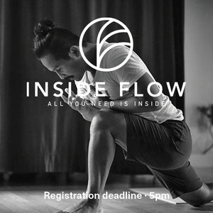 10/05 – Inside Flow Masterclass with Young Ho Kim -  18:45 pm