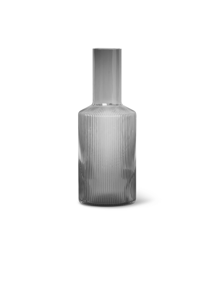 Ripple Carafe / Smoked Grey