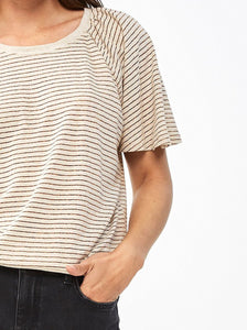 Febe Lurex Stripe Top