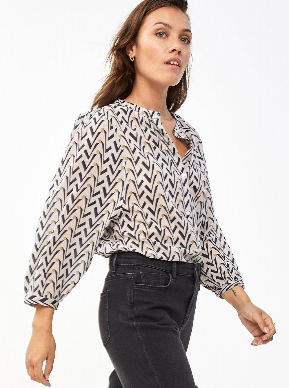 Lara Coconut Blouse
