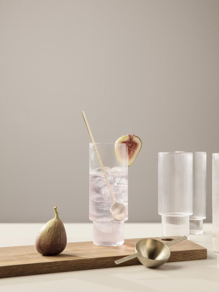 Ripple Long Drink Glasses 4er-Set