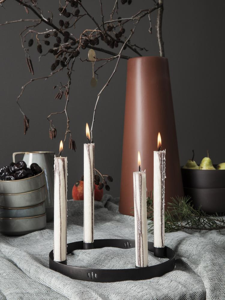 Duo Candle / Warm Grey