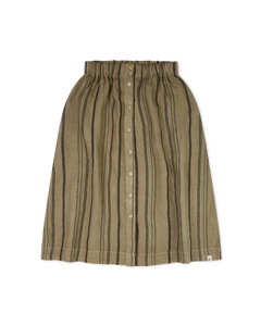 Elsa Skirt / Clay Striped