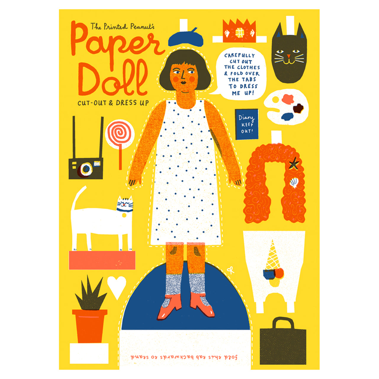 Cut Out Paper Doll