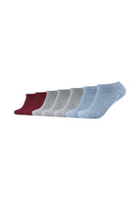 Lade das Bild in den Galerie-Viewer, Sneakersocken 7er Pack ca-soft, Bund ohne Gummidruck