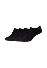 Sneakersocken Cotton fine invisible 4er Pack