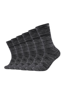 Socken 6er Pack, Mesh Ventilation