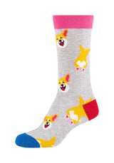 Damen Crew Socks Foxie 2er Pack