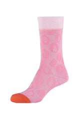 Damen Crew Socks Rose leo 2er Pack