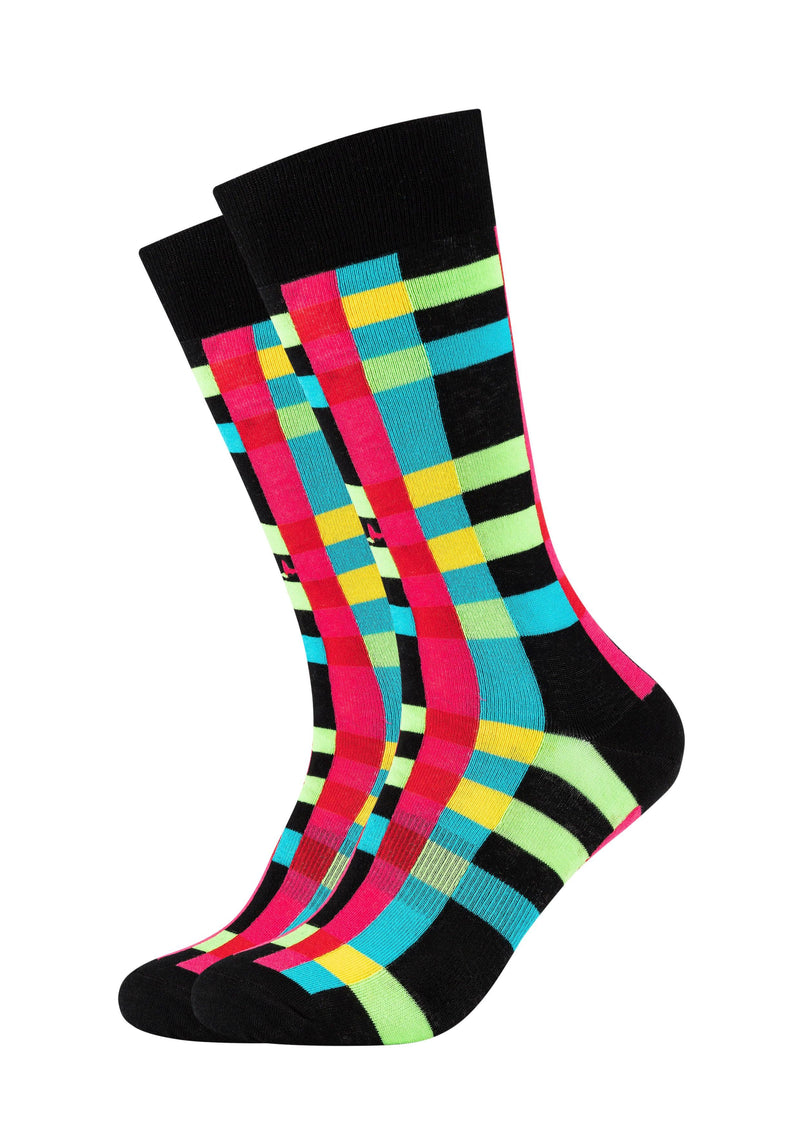 Herren Crew Socks Coloured stripes 2er Pack - ONSKINERY