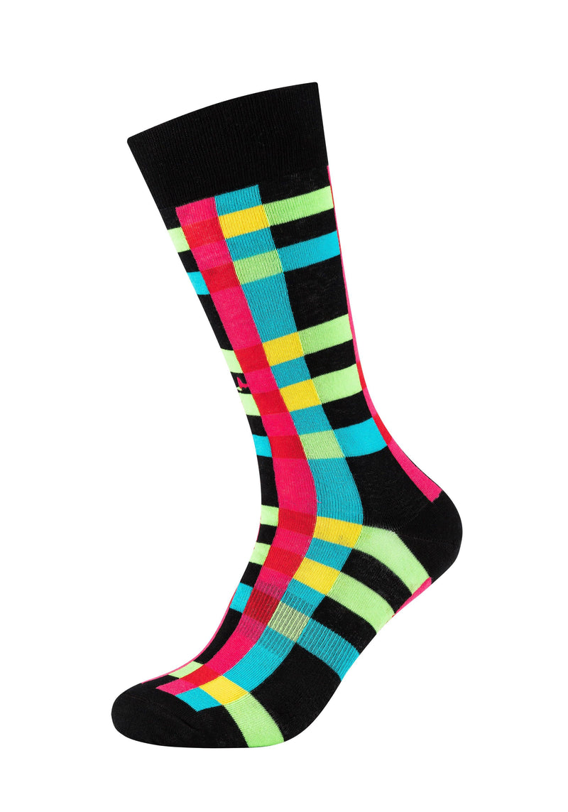 Herren Crew Socks Coloured stripes 2er Pack