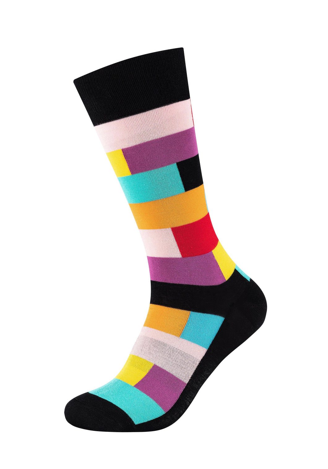 Herren Crew Socks Colour blocks 2er Pack