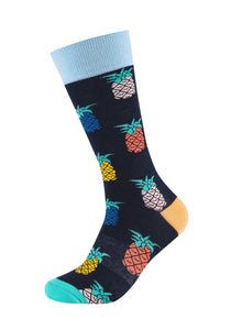 Herren Crew Socks Pineapple 2er Pack