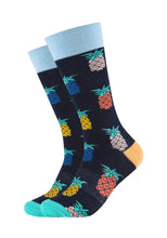 Lade das Bild in den Galerie-Viewer, Herren Crew Socks Pineapple 2er Pack
