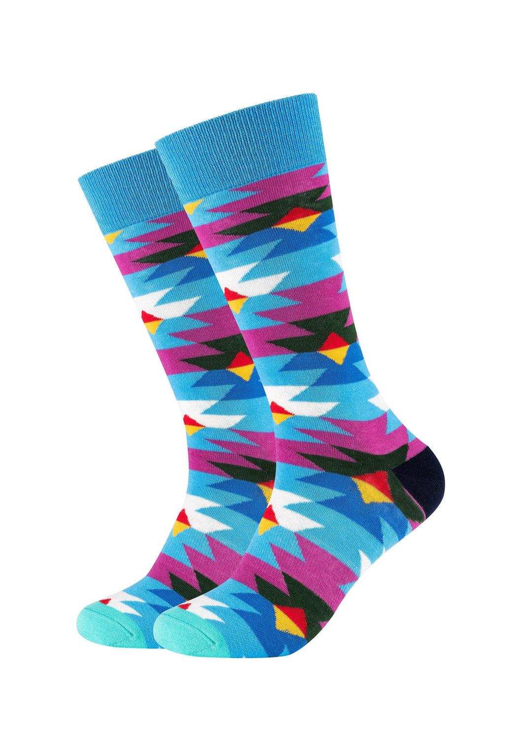 Herren Crew Socks patterned 2er Pack