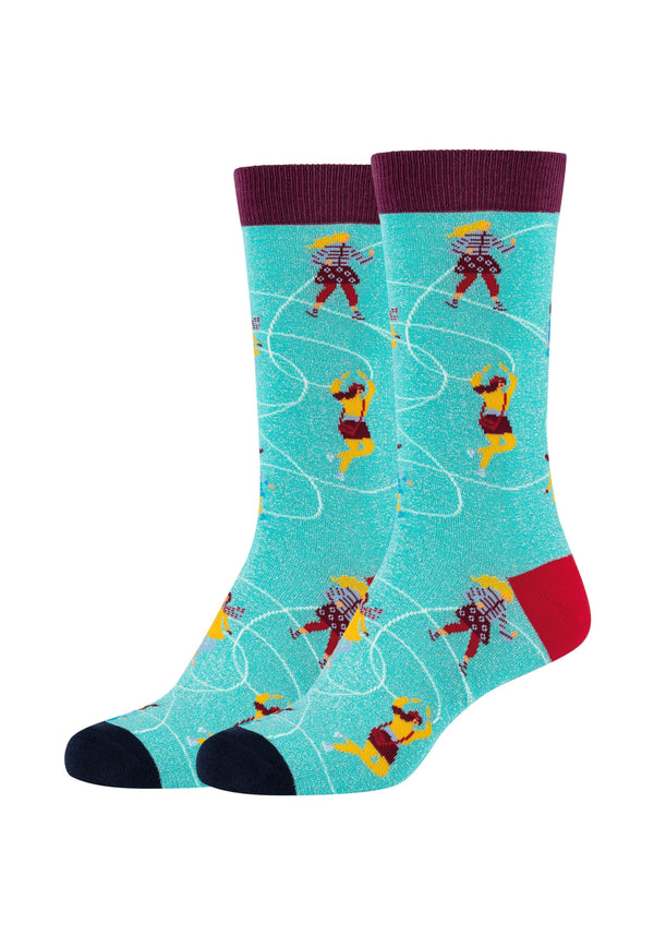 Damen Crew Socks Iceskating Ladies 2er Pack