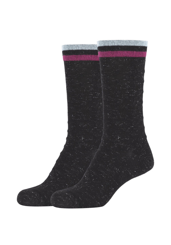 Damen Crew Socks Calmicro Dot 2er Pack